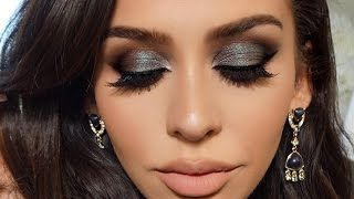 Blue/Green Smoke | Dramatic FALL Makeup Tutorial