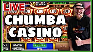CHUMBA CASINO | ONLINE SLOTS | SC 1,000 | LIVE STREAM