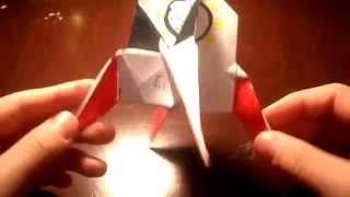 How To Make An Origami Paper Rocket Ship (escape Pod)