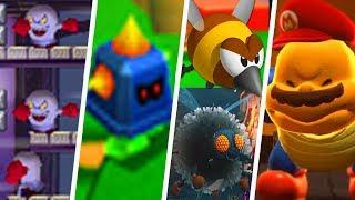 Evolution of Underused Enemies in Super Mario Games (1990 - 2018)