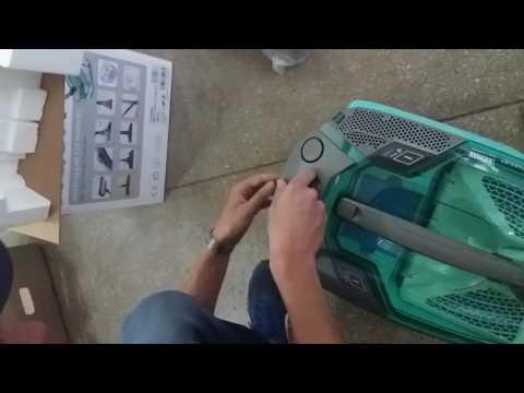 Пылесос Thomas Multiclean x10 parquet  распаковка