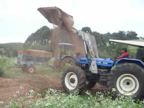 new holland 7630 com concha