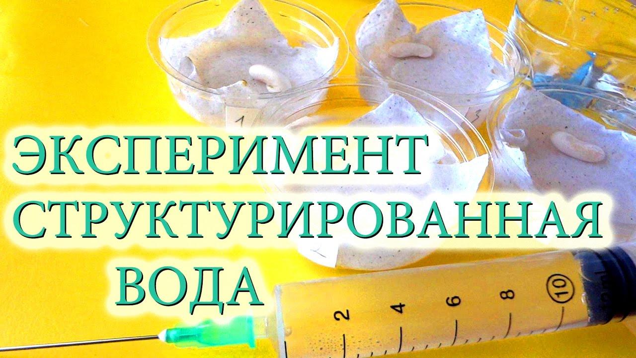 Эксперименты в домашних условиях с водой для детей
