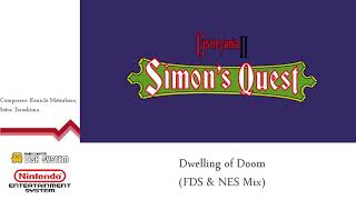 Castlevania II: Simon's Quest - Dwelling of Doom (FDS & NES Mix and Remastered)