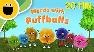 Words with Puffballs Compilation (Sesame Studios)