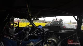 Top Doorslammer on board with Rob Taylor - Calder Park Raceway