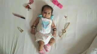 Baby Photoshoot at Home Ideas - Inaaya