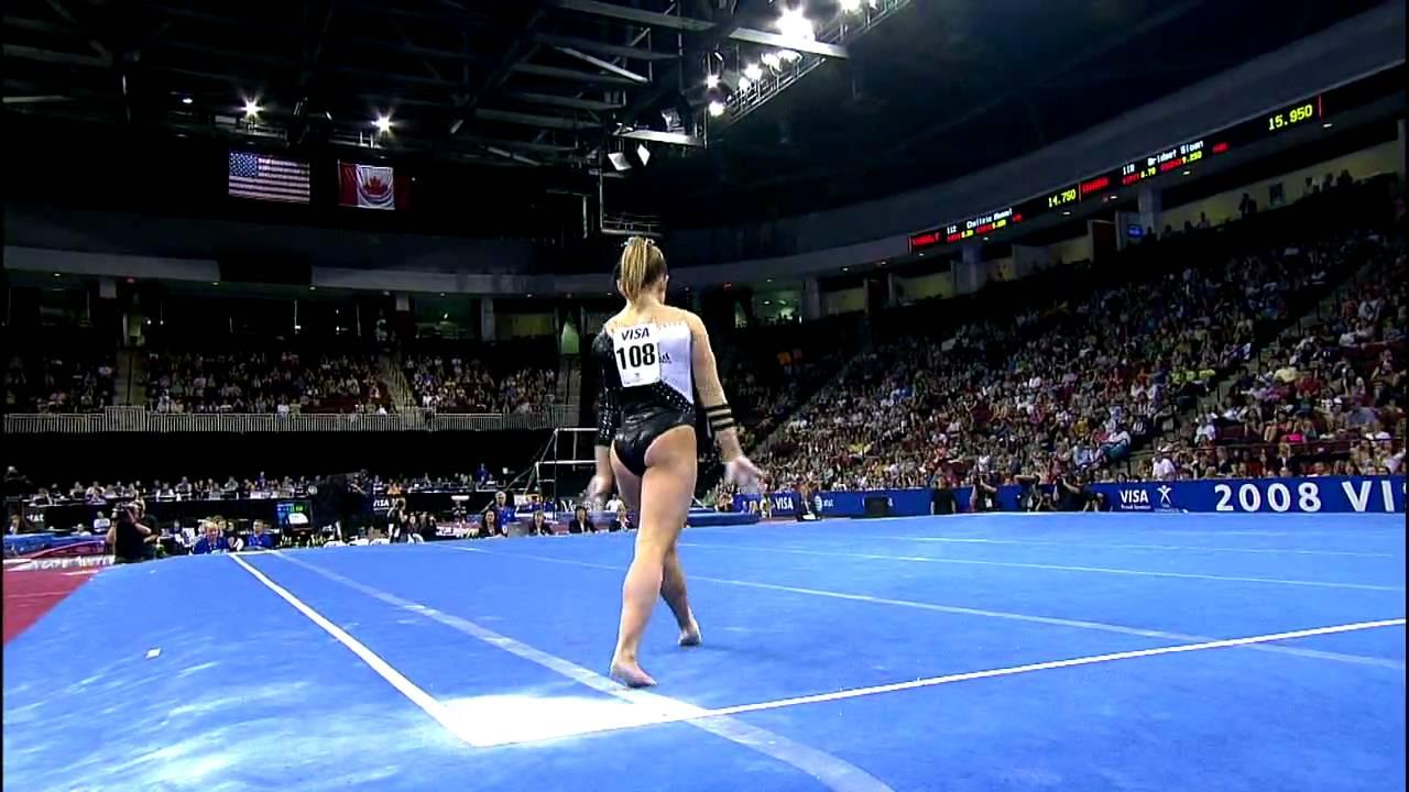 Shawn Johnson Floor Exercise 2008 Visa Championships