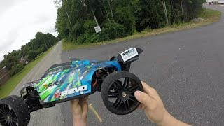 Traxxas E-revo2.0 107mph again! Emperformance, Ripple Killer