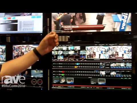 InfoComm 2016: NewTek Features Networks Device Interface