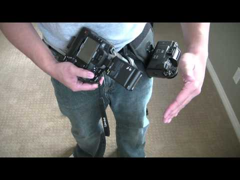 Spider Holster & Cotton Carrier Review / Comparison. Shot With Samsung h100n