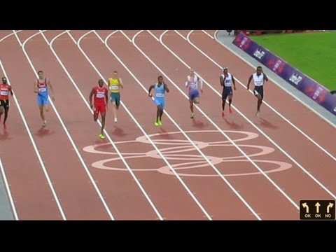 Olympic Men's 400m Semi Final  London 2012 Olympic Games