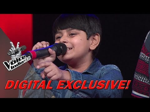 Madhav Arora Sings Dheere Dheere For Coach Himesh | Moment | The Voice India Kids - Season 2