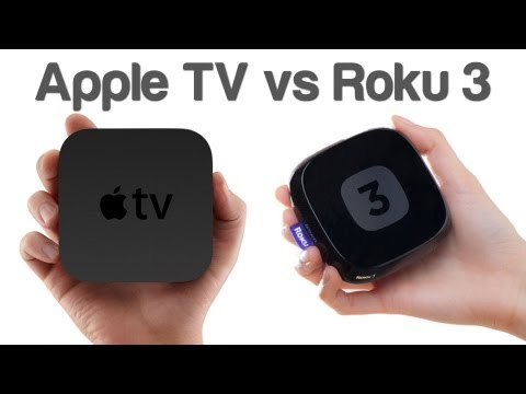 Apple TV vs Roku 3