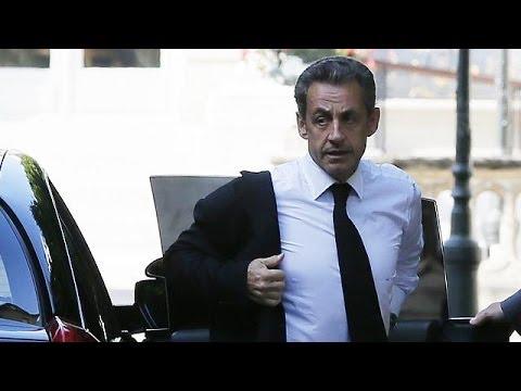 France : Nicolas Sarkozy en garde à vue