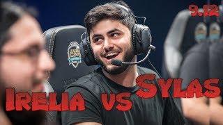 Yassuo - Irelia vs Sylas Mid - Patch 9.12 NA Ranked | League Of Legends
