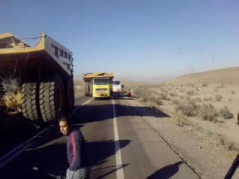 Bus Expreso norte casi  termina en tragedia
