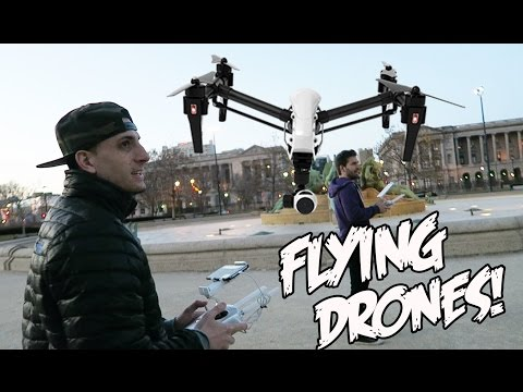 FLYING DRONES!!!!