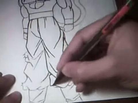 drawing SS4 GOKU