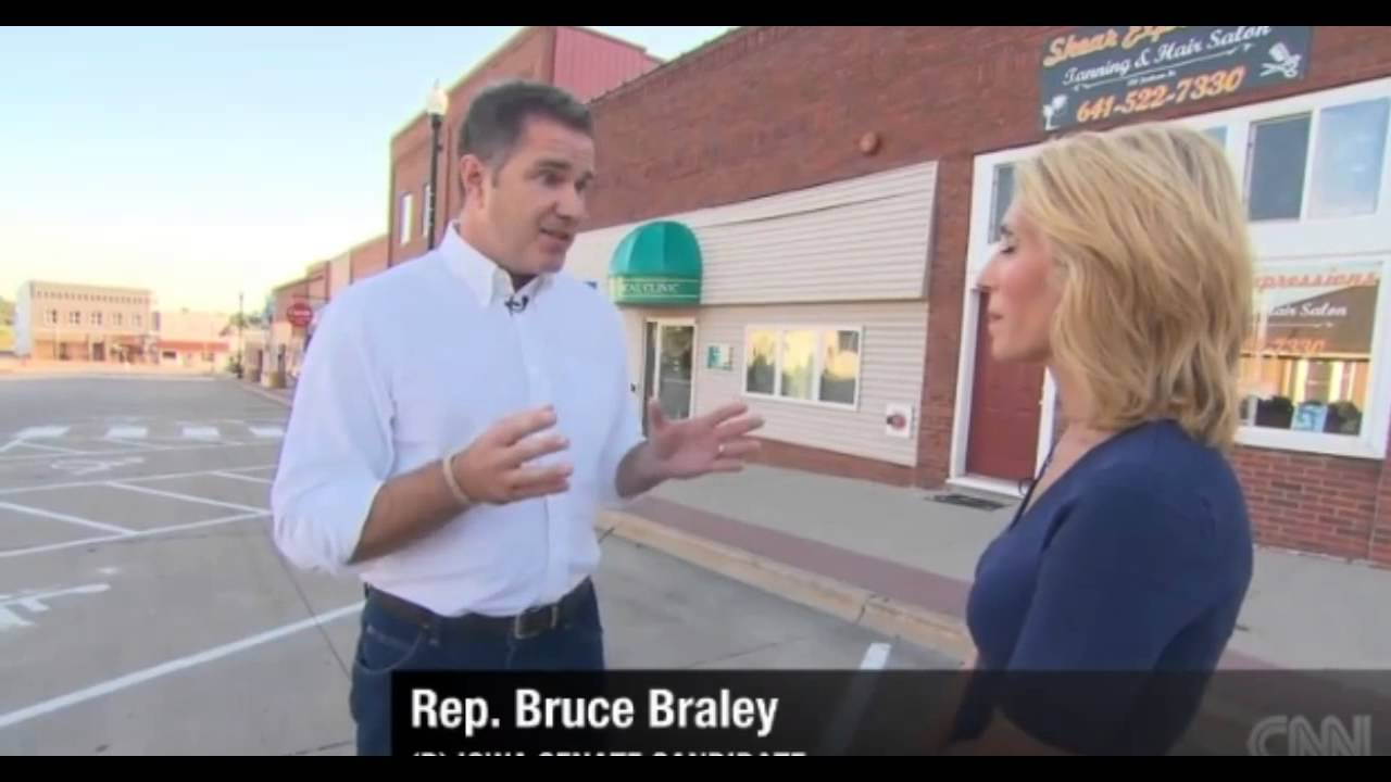Bruce Braley Bruce Braley vs Iowa Chickens