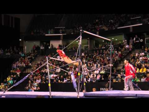 Peiru Luo - Uneven Bars Finals - 2012 Kellogg&#039;s Pacific Rim Championships - 3rd