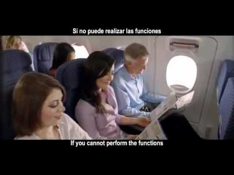 United Airlines Boeing 777-200 Safety Video
