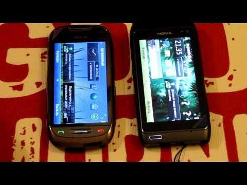 Nokia C7 против Nokia N8 [HD]