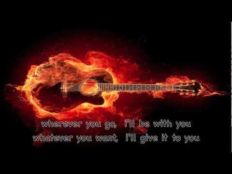 [cheap trick]  THE  FLAME  (lyrics)