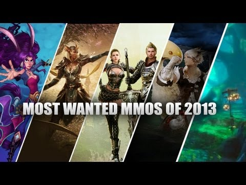 THE LIST - MMORPG's Most Wanted MMOs of 2013