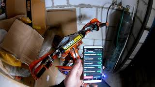 подключение инжектора к мобильному телефону на мотоцикле Avantis Enduro 250Pro