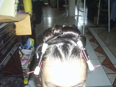 Peinado para fiesta 5