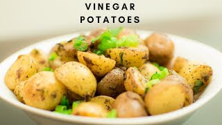 Snacks Special | Vinegar Potatoes | Easy Side Dish Recipes