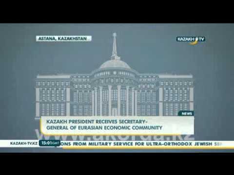 Президент принял Генерального секретаря ЕврАзЭС