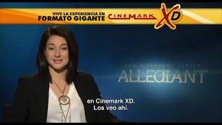 Shailene Woodley invita a ver Divergente La Serie: Leal en XD