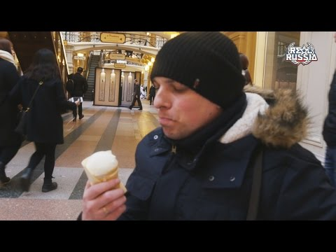 "Ice Cream and Lemonade in GUM, Moscow. ""Real Russia"" ep.123 (4K)"