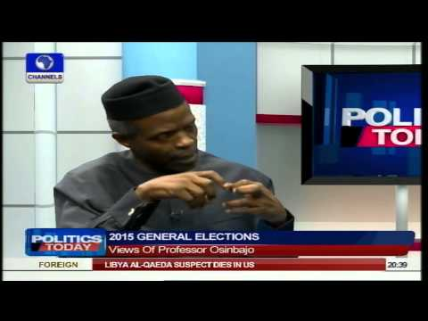 Politics Today: Nigerians Are Fed Up But APC 'Will' Bring Change - Osinbajo Pt4