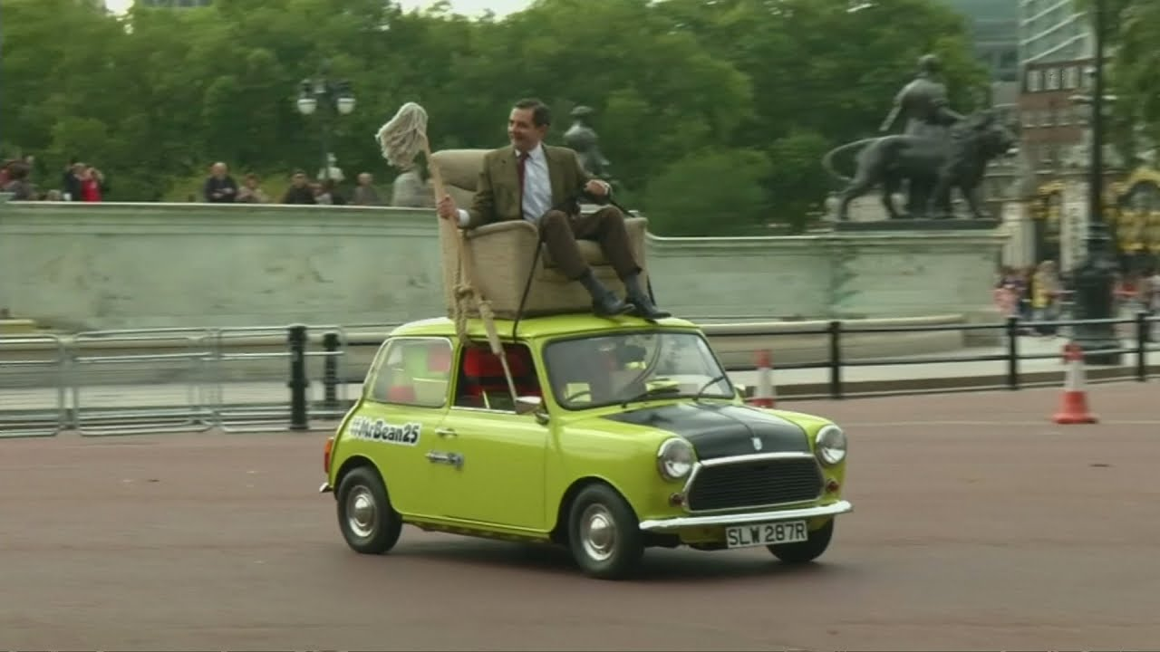 Mr Bean makes surprise appearance in London to celebrate 25 years