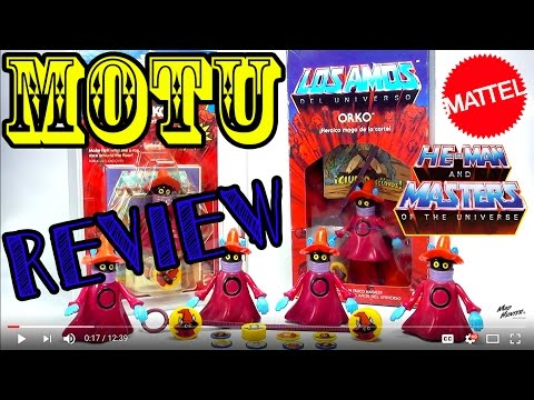 TOY REVIEW ORKO MOTU MASTERS OF THE UNIVERSE LOS AMOS MEXICO FIGURE COLLECTION JUGUETE VINTAGE