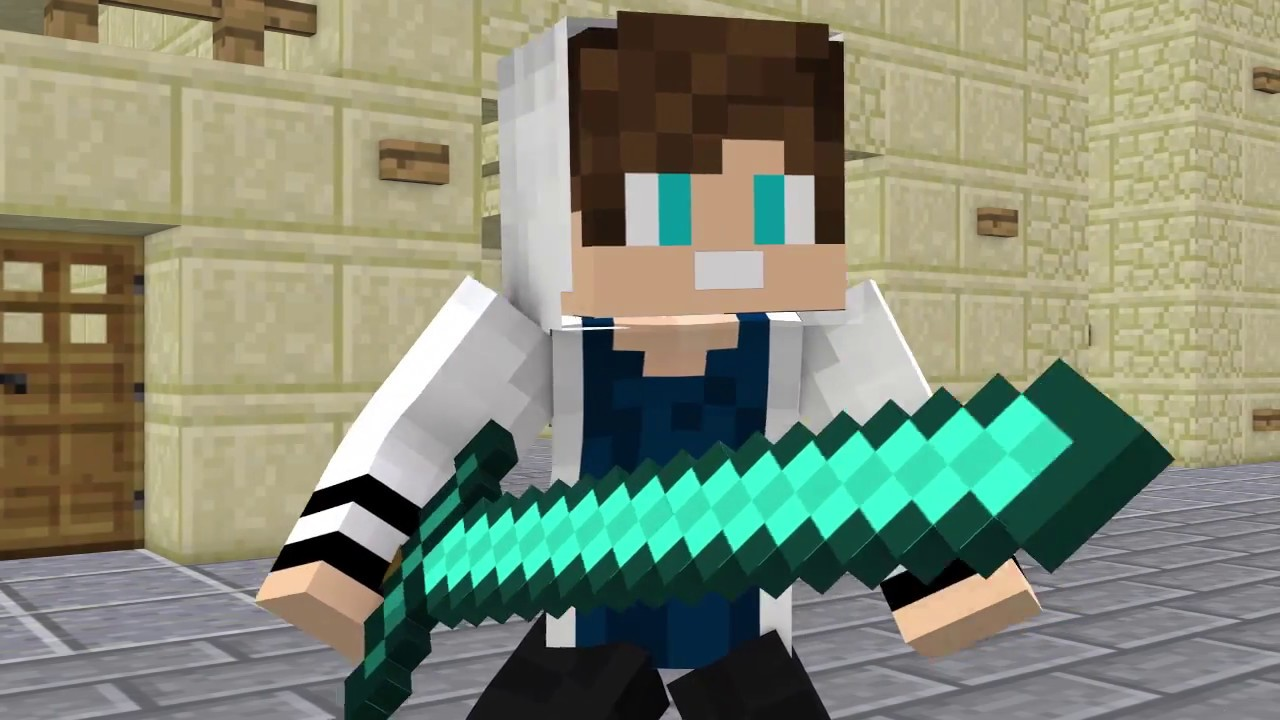 "NEW MINECRAFT SONG: Hacker 5  ""Everybody's Hackingl"" Minecraft Songs and Minecraft Animation"