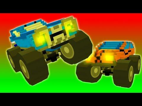 Детское видео игровой мультик про машинки монстры тачки уничтожай соперника в гонках в битве тачек