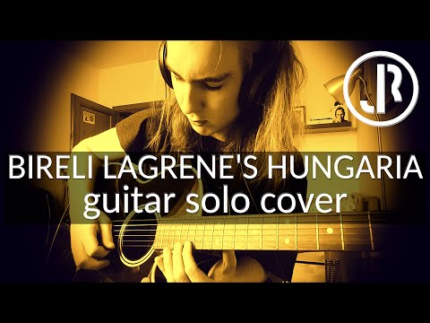Bireli Lagrene | Hungaria | guitar solo cover from GypsyGuitarAcademy [HD]