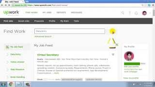 How  to Submit a proposal in Upwork Data Entry Job