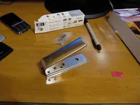 Wycinarka SIM do nano SIM z adapterami - test