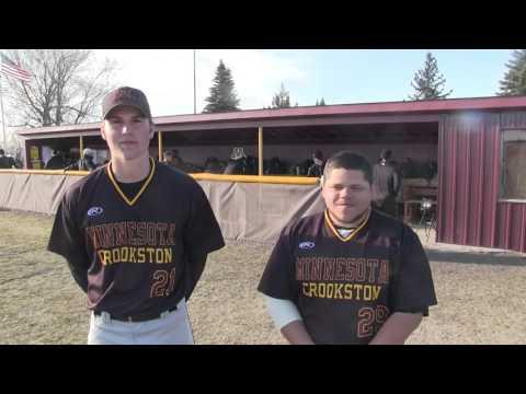 UMC Baseball Post-Game vs. Winona State (March 24, 2016)