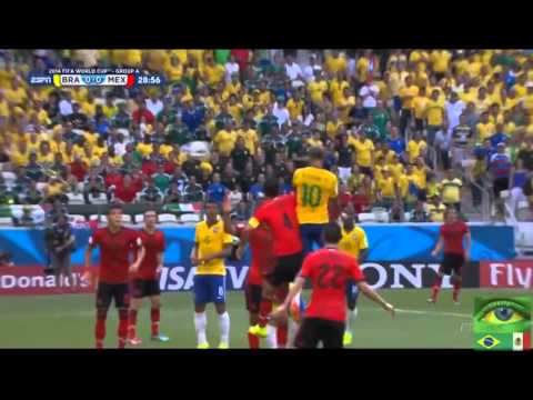 Brazil vs Mexico Highlights 2014 World Cup