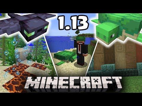 Minecraft 1.13: KORNJAČE, FANTOM I NOVI BLOKOVI