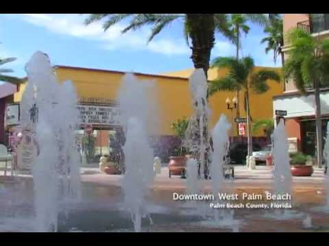 Downtown West Palm Beach, Florida