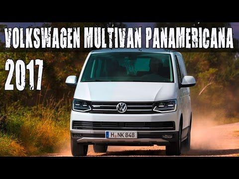 All New 2017 Volkswagen Multivan PanAmericana