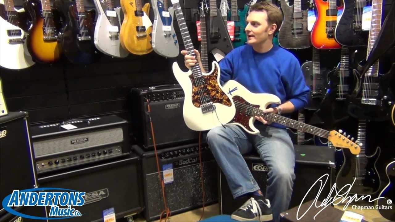 Anderton Signature Guitar