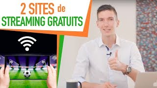 2 SITES de STREAMING GRATUITS pour REGARDER le SPORT